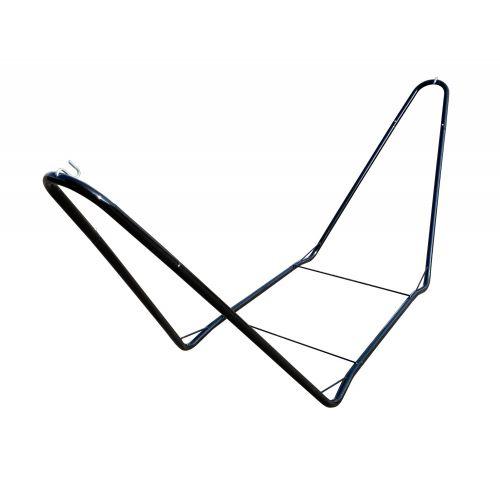 CHILLOUNGE® Black - Pulverbeschichtetes Stahl-Gestell für Einzel-Hängematten