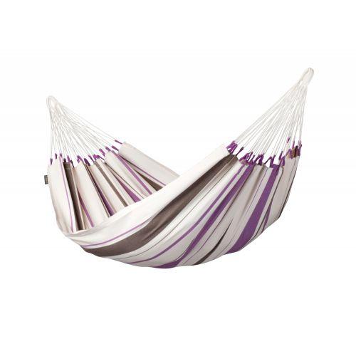 Caribeña Purple - Klassische Einzel-Hängematte aus Baumwolle