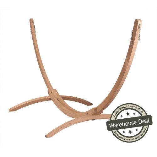 Canoa Caramel - Gestell aus FSC™-zertifizierter Fichte für Hängematten Kingsize