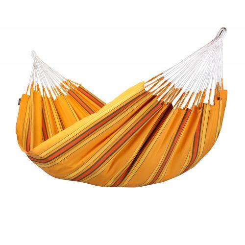 Currambera Apricot - Klassische Doppel-Hängematte aus Baumwolle