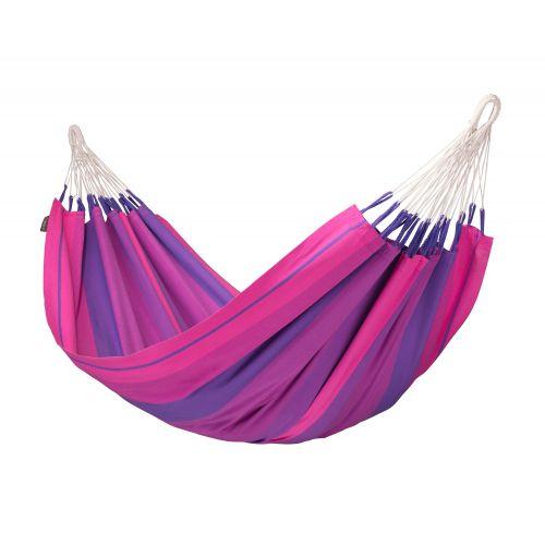 Orquídea Purple - Klassische Einzel-Hängematte aus Baumwolle