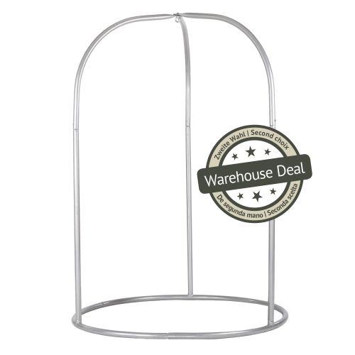 Romano Silver - Pulverbeschichtetes Stahl-Gestell für Hängestühle Basic oder Lounger