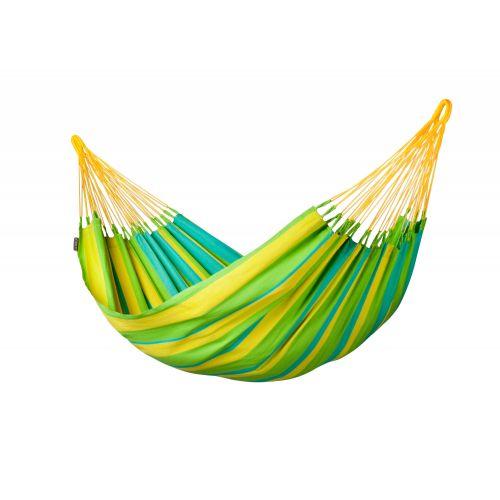 Sonrisa Lime - Klassische Einzel-Hängematte Outdoor